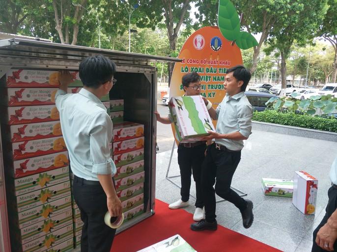 Sau 10 năm đàm phán, lô xoài đầu tiên của Việt Nam chính thức vào thị trường Mỹ - Ảnh 1.