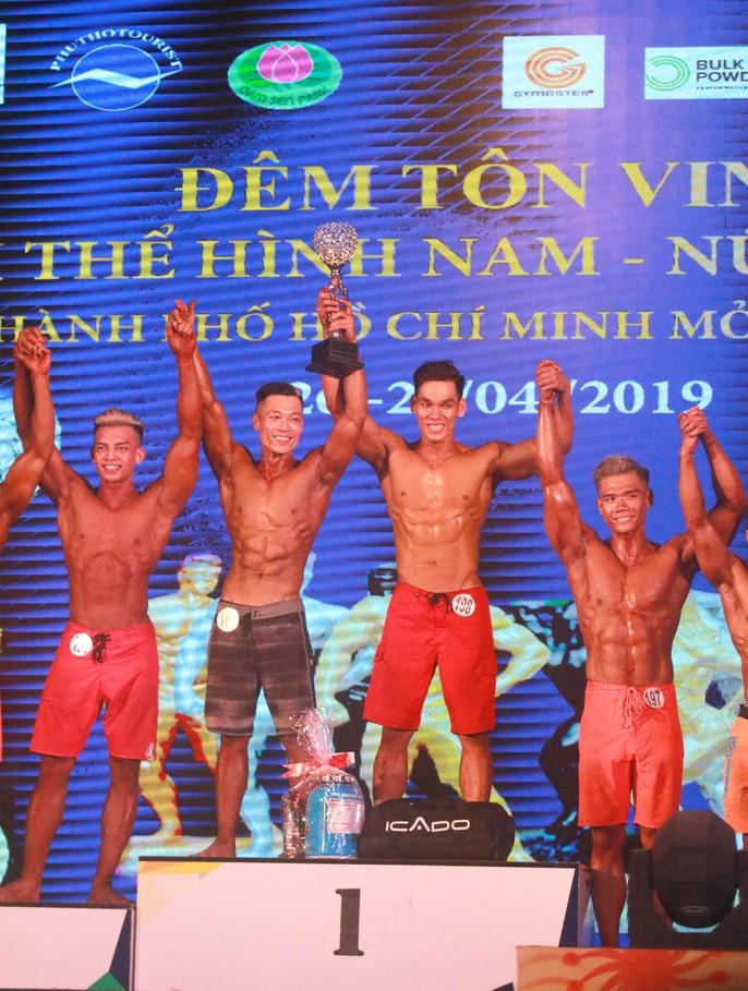 Nhã Miên, Hồng Đức vô địch thể hình physique TP HCM - Ảnh 5.