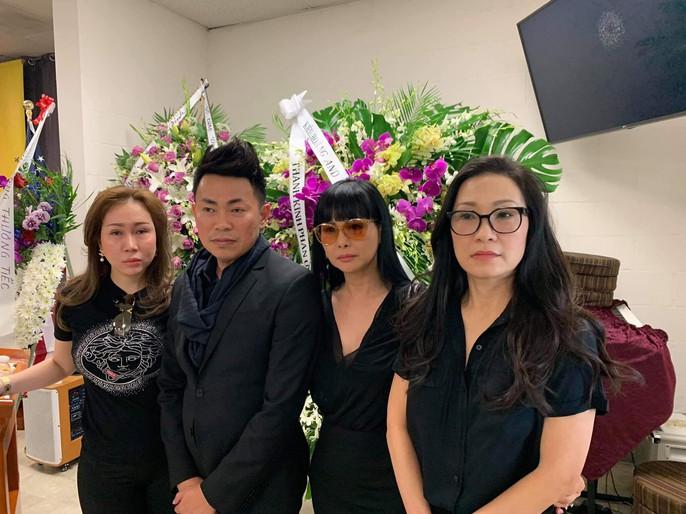 Xúc động tang lễ của nghệ sĩ Anh Vũ tại Mỹ - Ảnh 8.