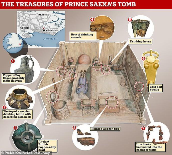 Bí ẩn mộ hoàng tử vô hình trước kẻ trộm suốt 1.400 năm - Ảnh 1.
