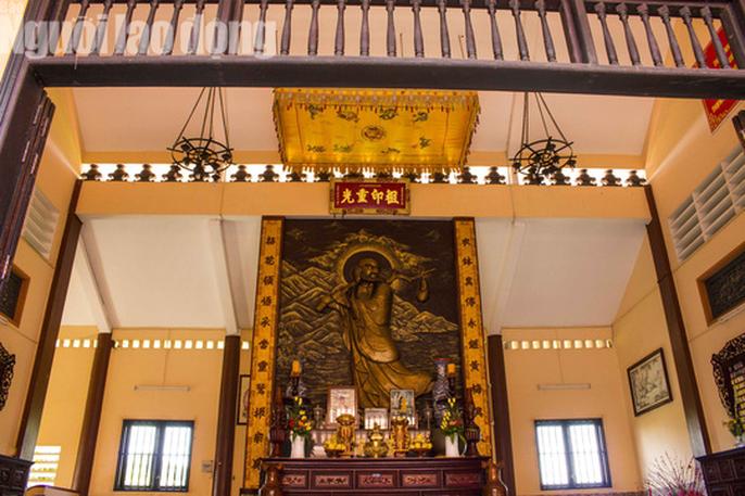Chiêm ngưỡng ngôi chùa vùng biên giới có tượng Phật cao nhất miền Tây - Ảnh 22.