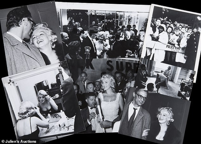 Ảnh hiếm biểu tượng sex Marilyn Monroe tiếp tục được rao bán - Ảnh 9.