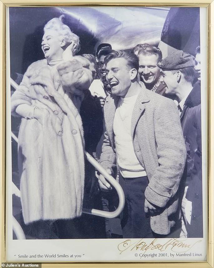 Ảnh hiếm biểu tượng sex Marilyn Monroe tiếp tục được rao bán - Ảnh 4.