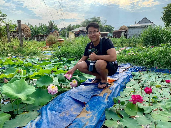 Độc và lạ về giống sen nở hàng trăm cánh tuyệt đẹp ở Quảng Nam - Ảnh 9.