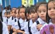 TP HCM: Học sinh tựu trường ngày 1-9
