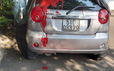 Ô tô cán bộ cơ sở cai nghiện Bình Triệu bị tạt sơn