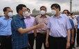 Chặn dịch ở các khu công nghiệp Bắc Giang
