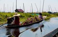 Những ngôi làng nổi trên mặt nước ở Myanmar