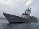 Tàu chiến Mỹ mắc cạn tại Biển Đen