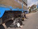 Cua gấp, tông vào xe tải, một người chết tại chỗ