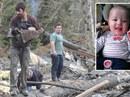 """Liều mạng cứu bé 5 tháng tuổi bị lở đất """"chôn sống"""""""