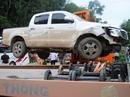 """Lái xe tông CSGT ở bản có nhiều """"trùm"""" ma túy trên đất Lào"""