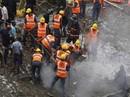 Sập nhà ở Ấn Độ, 13 người chết