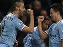 Negredo lập hat-trick, Man City nhấn chìm West Ham