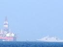 Giàn khoan 981 dịch chuyển 100-150 m, tàu tên lửa lởn vởn