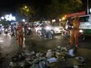 Sài Gòn đầy rác sau giao thừa