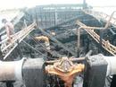 Cháy tàu cá đang đậu, thiêu rụi 700 triệu đồng