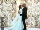 """Hé lộ ảnh cưới Kim """"siêu vòng ba"""""""