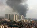 Cháy lớn tại nhà kho Diana rộng hàng ngàn m2