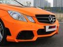 Xế độ Mercedes E350 Coupe màu độc ở Sài Gòn