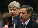 Ông Wenger và Mourinho chưa bao giờ xem nhau là bạn