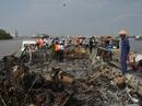 Cháy tàu cánh ngầm tốc hành, 83 hành khách nhảy sông