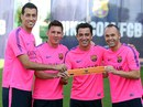 Messi làm đội phó số 2 Barca