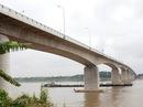 Cầu vượt sông dài nhất Việt Nam 5.487m đi hút tầm mắt