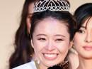 Tân Hoa hậu Thế giới Nhật Bản nức nở khi đăng quang