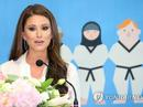 Cựu Hoa hậu Mỹ trở thành đại sứ Taekwondo thế giới