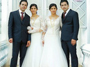 Đám cưới sinh đôi lạ lùng chưa từng thấy