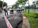 Hố gas nổ như bom trên đường Trường Sa