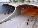 Chiều nay hầm sông Sài Gòn sẽ đóng 15 phút