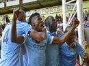 Iheanacho lập công, Man City nối dài mạch trận toàn thắng