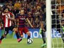 Messi lập công, Barcelona vẫn không giành nổi Siêu cúp