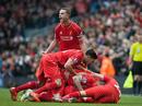 """""""Đất dữ"""" Anfield nhấn chìm tham vọng Man City"""