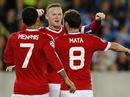 Rooney khai hỏa, Sanchez giải hạn bằng hat-trick