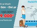 Pasoto.com bán vé xe khách giá rẻ