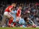 Man City thua muối mặt Middlesbrough vì quá tải?