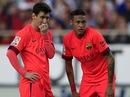 """PSG """"chấp"""" Barca nửa đội hình"""