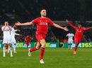 Đánh bại Swansea, Liverpool chờ đại chiến với Man United