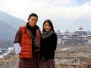 Vua Bhutan chào đón hoàng tử