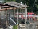 Cháy ngùn ngụt ở căn cứ quân sự Mỹ