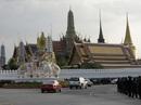 """Linh cữu Quốc vương Thái Lan về đến """"nhà"""""""