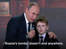 Tổng thống Putin: Biên giới Nga không có điểm kết thúc