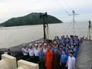 Xúc động lễ chào cờ đón Tết Độc lập trên đảo Hòn Khoai