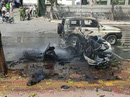 Vụ nổ taxi ở Quảng Ninh: Hành khách tự tử bằng mìn tự tạo