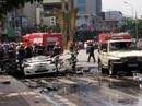 Nổ cháy taxi kinh hoàng ở Cẩm Phả, 2 người tử vong