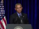 Ông Obama lên tiếng về tổng thống Philippines
