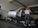 Ông Hiển khó mà lái trực thăng lên trời!